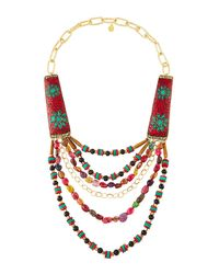 Devon Leigh - Multicolor -inspired Multi-strand Statement Necklace - Lyst