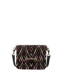 Elaine Turner - Multicolor Brie Fabric Crossbody Bag - Lyst