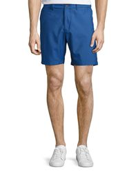 Original Penguin - Blue Packable Hydro Shorts for Men - Lyst