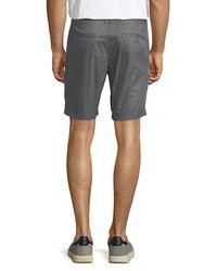 """Original Penguin - Gray P55 8"""" Basic Slim Shorts for Men - Lyst"""