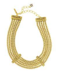 Oscar de la Renta | Metallic Chain Necklace | Lyst