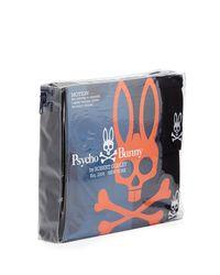 Psycho Bunny - Black Tagless Motion Crewneck Loungewear Tee Two-piece Set for Men - Lyst