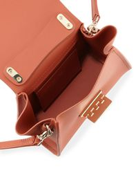 Zac Zac Posen - Multicolor Eartha Iconic Smooth Leather Top-handle Mini Crossbody - Lyst