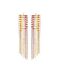 Lydell NYC - Metallic Multicolor Crystal Chandelier Earrings - Lyst