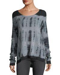 Gypsy 05 - Black Tie-dye Wool Sweater - Lyst