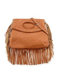 Urban Originals - Brown Style Icon Faux-Leather Shoulder Bag - Lyst