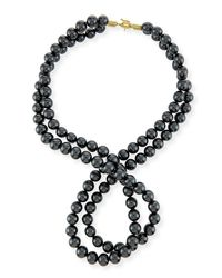 Stella McCartney - Multicolor Swarovski® Crystal-pearl Two-strand Necklace - Lyst