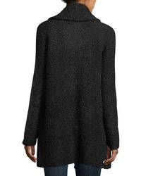 Joie - Black Solome Long Chunky Sweater - Lyst