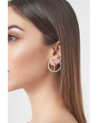 Lavish Alice - Metallic Sterling Silver Gold Plated Triple Hoop Earrings - Lyst