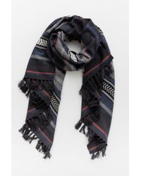 Lemlem - Multicolor Yohannes Striped Tassle Scarf - Lyst