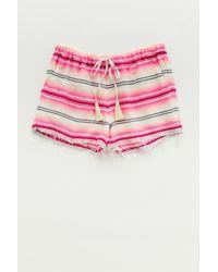 Lemlem - Pink Elsi Shorts - Lyst