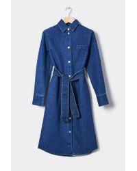 Kowtow - Blue Contemporary Shirt Dress   Denim - Lyst