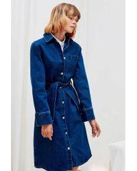 Kowtow - Blue Contemporary Shirt Dress | Denim - Lyst
