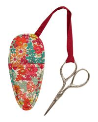 Liberty - Red Sewing Scissors And Case - Lyst
