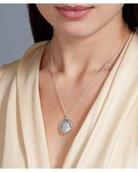 Astley Clarke | Metallic Medium Astley Locket Necklace | Lyst