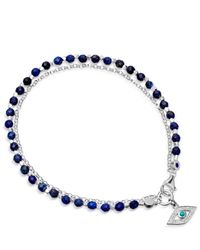 Astley Clarke - Metallic Evil Eye Biography Bracelet - Lyst