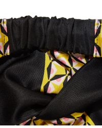 Fendi - Yellow Duchesse Knot Headband - Lyst