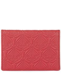 Liberty - Red Iphis Leather Travel Card Holder - Lyst
