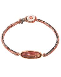 Brooke Gregson - Red Rose Gold Icicle Bracelet - Lyst