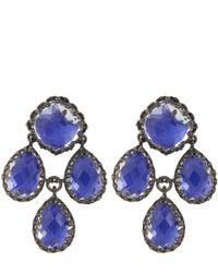 Larkspur & Hawk   Blue Cobalt Antoinette Girandole Earrings   Lyst