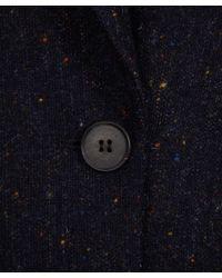 M.i.h Jeans - Blue Dark Grey Flecked Wool Dylan Blazer Jacket - Lyst