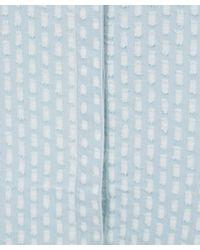 Current/Elliott - Light Blue The Sage Shirt Dress - Lyst