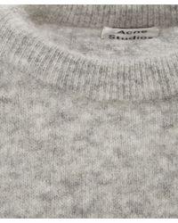 Acne Studios - Gray Dramatic Sweater - Lyst