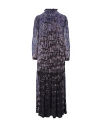 Raquel Allegra - Purple Tie Dye Maxi Dress - Lyst