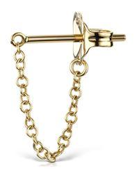 Maria Tash - Metallic Medium 22mm Chain Wrap Earstud - Lyst