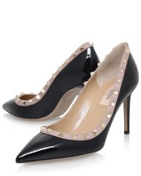 Valentino - Multicolor Rockstud Pointed Courts - Lyst