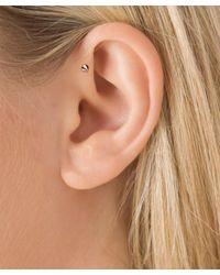 Maria Tash - Multicolor 3.5-2.5mm Spike Threaded Stud Earring - Lyst