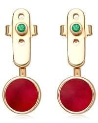 Astley Clarke - Metallic Ruby Mars Ear Jackets - Lyst