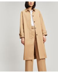 cfa40797e9f3d Lyst - YMC Kramer Belted Trench Coat in Natural
