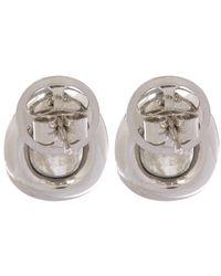 Annoushka | Metallic 18ct White Gold Dusty Diamonds Labradorite Stud Earrings | Lyst