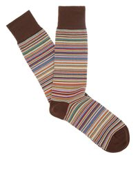 Paul Smith | Multicolor Multi Stripe Socks | Lyst