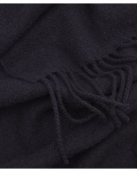 Norse Projects - Blue Lambswool Scarf for Men - Lyst