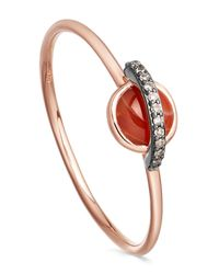 Astley Clarke | Multicolor Agate Mini Saturn Ring | Lyst