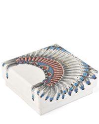 Valentino - Metallic Eagle Stone Ring - Lyst