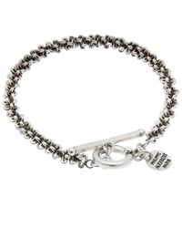 Philippe Audibert - Metallic Totem Chain Bracelet - Lyst
