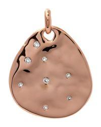Monica Vinader | Metallic Rose Gold-plated Siren Scatter Teardrop Pendant | Lyst