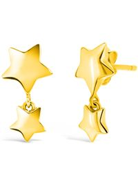 Dinny Hall - Metallic Gold-plated Bijou Star Dangle Earrings - Lyst