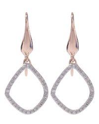Monica Vinader | Multicolor Gold-plated Diamond Riva Kite Earrings | Lyst