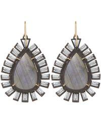 Nak Armstrong - Blue Mixed Gemstone Drop Earrings - Lyst