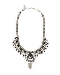 DANNIJO - Metallic Plated Cherie Statement Necklace - Lyst