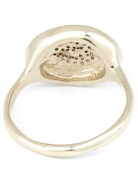 Satomi Kawakita - White Diamond Eye Ring - Lyst