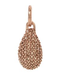 Monica Vinader | Pink Rose Gold-plated Stellar Champagne Diamond Pendant | Lyst