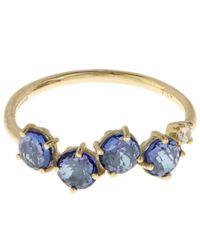 Suzanne Kalan | Metallic Gold English Blue Topaz Ring | Lyst