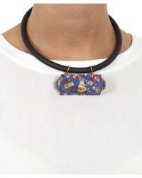 Lily Kamper - Multicolor Resin Ferriss Shell Pendant Necklace - Lyst