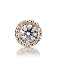 Maria Tash - Multicolor 1.5mm Scalloped Set Diamond Threaded Stud - Lyst