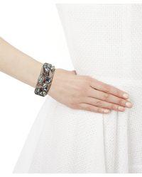 Alexis Bittar - Metallic Pearl And Crystal Cuff Bracelet - Lyst